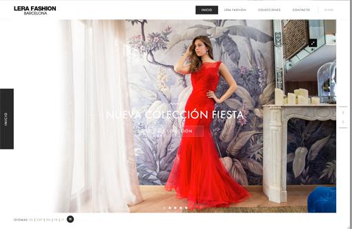 Colección de vestidos de fiesta y novia
